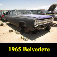 Junkyard 1965 Plymouth Belvedere