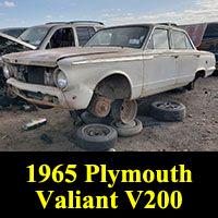 1965 Plymouth Valiant V-200
