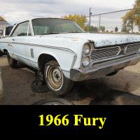 Junkyard 1966 Plymouth Fury
