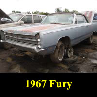 Junkyard 1967 Plymouth Fury