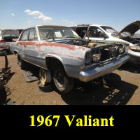 Junkyard 1967 Pymouth Valiant