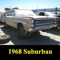 Junkyard 1968 Plymouth Suburban Wagon