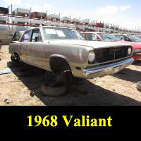 Junkyard 1968 Plymouth Valiant Signet