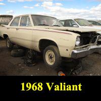 Junkyard 1968 Plymouth Valiant