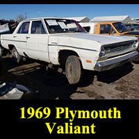 Junkyard 1969 Plymouth Valiant