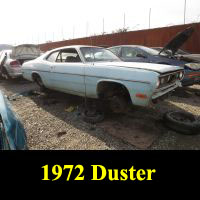 Junkyard 1972 Plymouth Valiant Duster