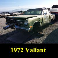 Junkyard 1972 Plymouth Valiant