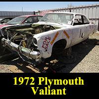 Junkyard 1972 Plymouth Valiant Scamp