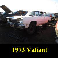 Junkyard 1973 Plymouth Valiant