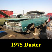 Junkyard 1975 Plymouth Duster