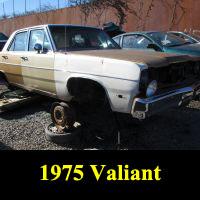 Junkyard 1975 Plymouth Valiant