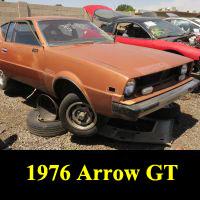 Junkyard 1976 Plymouth Arrow GT