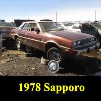 Junkyard 1978 Plymouth Sapporo