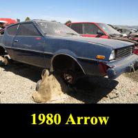 Junkyard 1980 Plymouth Arrow