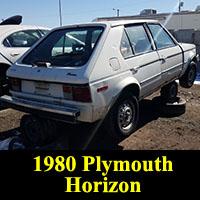 Junkyard 1980 Plymouth Horizon