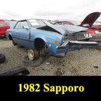 Junkyard 1982 Plymouth Sapporo