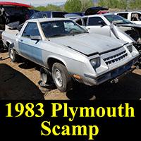 Junkyard 1983 Plymouth Scamp