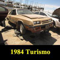 Junkyard 1984 Plymouth Turismo