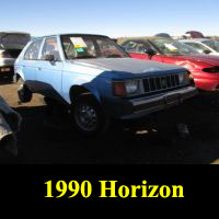Junkyard 1990 Plymouth Horizon