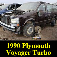 1990 Plymouth Voyager Turbo