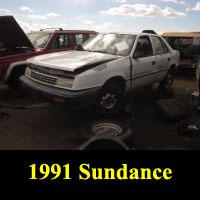 Junkyard 1991 Plymouth Sundance America