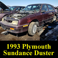 Junkyard 1993 Plymouth Sundance Duster