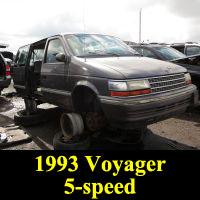 Junkyard 1993 Plymouth Voyager