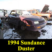 Junkyard 1994 Plymouth Sundance Duster
