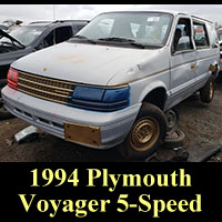 Junkyard 1994 Plymouth Voyager