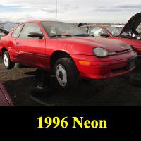 Junkyard 1996 Plymouth Neon Expresso