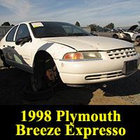 Junkyard 1998 Plymouth Breeze Expresso
