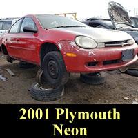 Junkyard 2001 Plymouth Neon