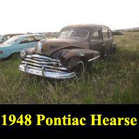 Junkyard 1948 Pontiac Hearse