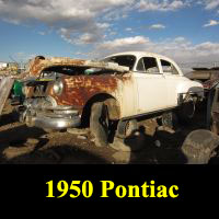 Junkyard 1950 Pontiac Chieftan