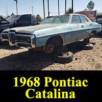 Junkyard 1968 Pontiac Catalina