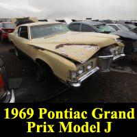 Junkyard 1969 Pontiac Grand Prix Model J