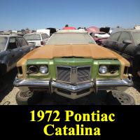 Junkyard 1972 Pontiac Catalina