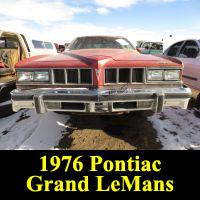 Junkyard 1976 Pontiac Grand LeMans