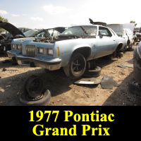Junkyard 1977 Pontiac Grand Prix