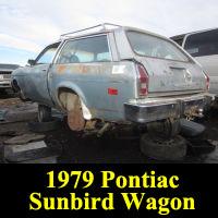 Junkyard 1979 Pontiac Sunbird Wagon