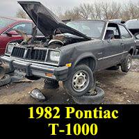 1982 Pontiac T1000