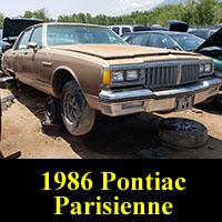 Junkyard 1986 Pontiac Parisienne