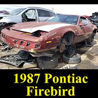Junkyard 1987 Pontiac Firebird