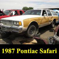 Junkyard 1987 Pontiac Safari wagon