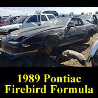 Junkyard 1988 Pontiac Firebird