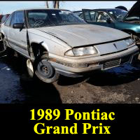 Junkyard 1989 Pontiac Grand Prix