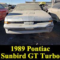 1989 Pontiac Sunbird GT Turbo