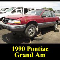 Junkyard 1990 Pontiac Grand Am
