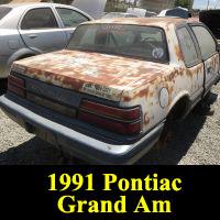 Junkyard 1991 Pontiac Grand Am