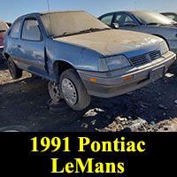 1991 Pontiac Daewoo LeMans